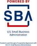 SBA PoweredBy with statement